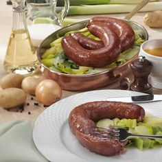 "Blutwurst - in english ""Blood Sausage"" :-)"