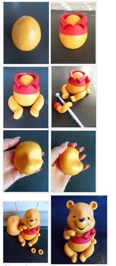 Winnie the Pooh figure Tutorial.