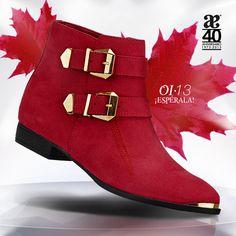 En esta temporada #AndreaOtoñoInvierno13 los detalles metálicos se presentan en el zapato para darle una fuerte identidad.