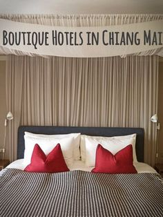 A few of the best boutique hotels in Chiang Mai to fit every budget. Thailand Resorts, Thailand Travel Tips, Visit Thailand, Phuket, Vietnam Travel, Asia Travel, Chang Mai Thailand, Chaing Mai, Hotel Hacks