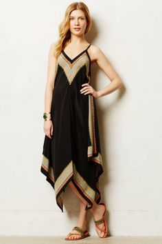 Estrella Maxi Dress via Anthropologie