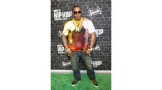 Busta Rhymes on the green carpet for the 2014 BET Hip Hop Awards