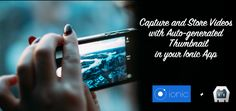 Learn to record Videos in your Ionic App! Save the captured Video to your apps directory and autogenerate a Thumbnail from the Movie!