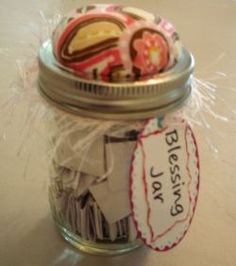Are you looking for a list of scriptures to include in a Blessing Jar? You'll find that list here, in addition to ideas for tags and embellishments....