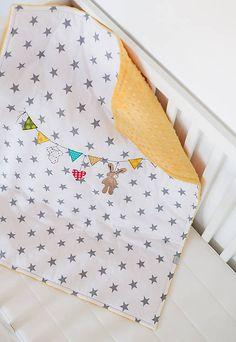 zuzug / Detská deka s minky