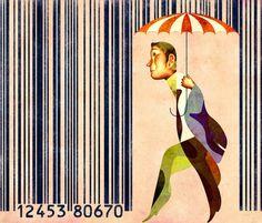 Raining barcodes PD