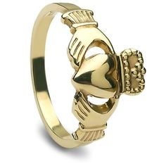 Specializes in gold, platinum and sterling silver Claddagh Ring designs. Claddagh Rings - Made in Ireland, ships from Colorado, USA. Mens Claddagh Ring, Claddagh Symbol, Claddagh Rings, Commitment Rings, Irish Rings, Golden Ring, Irish Jewelry, Best Engagement Rings, Ring Stores