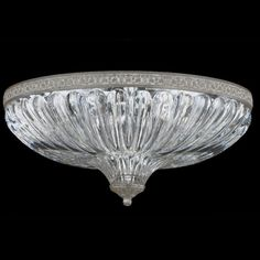 Schonbek Milano Flush Mount Size / Finish: H x W x D / Parchment Bronze Crystal Wall, Light, Crystal Lighting, Schonbek, Crystal Ceiling Light, Entry Light Fixture, Schonbek Chandelier, Entry Lighting, Ceiling Lights
