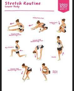 Stretch Routine: Lower Body