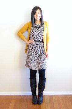 Audrey's Closet | LOFT Animal Print Dress (brand new w/ tags) - XS | Online Store Powered by Storenvy