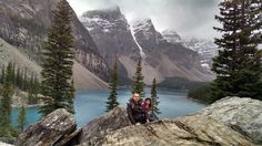 Lake Moraine. Banff. Alberta