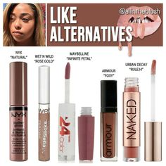 Kylie Jenner lip gloss dupes for Like