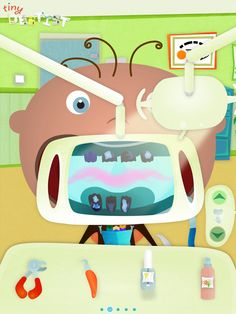 Tiny dentist Pic from apple app