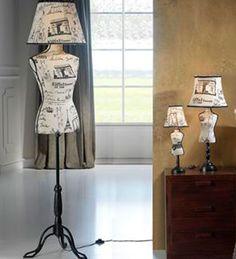 Lámparas Vogue-Maniquí