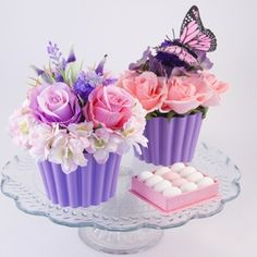 decorative cupcake vase, decoration vase cupcake, cup cake vases #graciousbridal $6.95