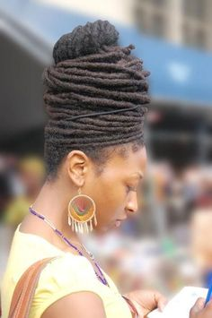 101+ Ways To Style Your Dreadlocks   ART BECOMES YOU #dreadlockstyles