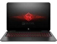 """Ноутбук HP Omen 15-ax003ur (15.6 IPS (LED)/ Core i5 6300HQ 2300MHz/ 8192Mb/ HDD+SSD 1000Gb/ NVIDIA GeForce® GTX 965M 4096Mb) MS Windows 10 Home (64-bit) [F2T31EA]  — 89990 руб. —  15.6"""" Intel Core i5 6300HQ 2300 МГц 8192 Мб DDR4-2133МГц HDD+SSD 1000 Гб MS Windows 10 Home (64-bit), Черный"""