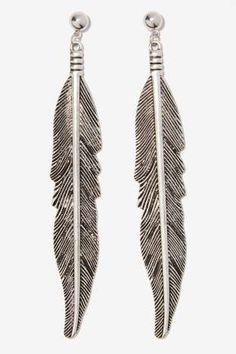 Little Wing Metallic Earrings