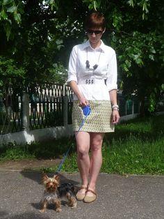 Из рубашки в платье (люблю PHILIPS!) / Рубашки / Модный сайт о стильной переделке одежды и интерьера