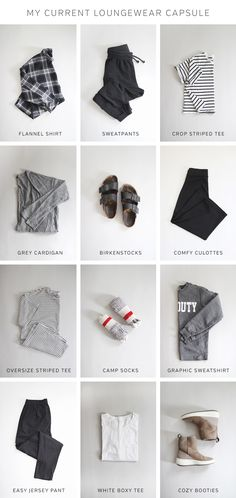 Style Bee Responsible Loungewear Capsule part 1 #capsulewardrobe #howtowear