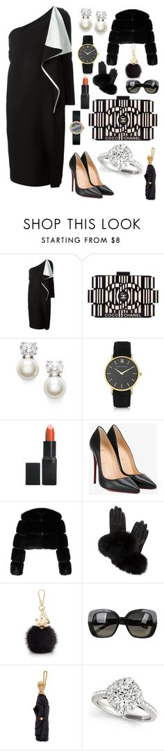 """My First Polyvore Outfit"" by annasfashionandenjoy ❤ liked on Polyvore featuring Chloé, Chanel, Judith Jack, Larsson & Jennings, Barry M, Christian Louboutin, Givenchy, AGNELLE, Furla and Bottega Veneta"