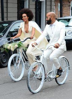 10 of the Most Unique Celebrity Wedding Dresses: Solange Knowles  #weddingdress #bridaldress