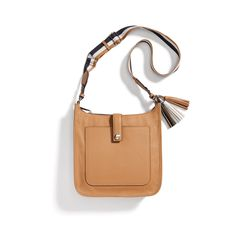 Stitch Fix New Arrivals: Brown Leather Cross-Body Bag