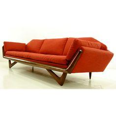 1960s Adrian Pearsall sofa - Danish Modern http://decdesignecasa.blogspot.it/
