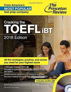 Cracking the TOEFL iBT Books