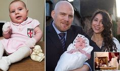 Shakespeare's 14th great-niece baptised alongside Bard's grave