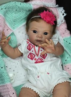 Bonnies Babies Custom Reborn Adrie Stoete Limited Edition Poppet ONLY 1 LEFT!