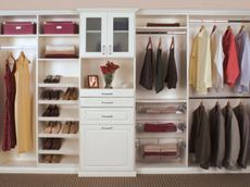 larger style for a reach in closet