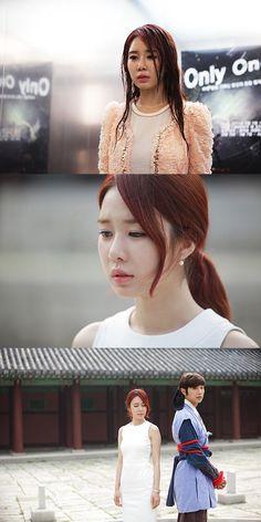 Queen In Hyun's Man--This moment was so hard to watch. I'm sure everyone was screaming at their screens :) Queen In Hyuns Man, I Am A Queen, Korean Drama Movies, Korean Dramas, Yoo In Na, Drama Fever, Hyun Woo, Thai Drama, Asian Men
