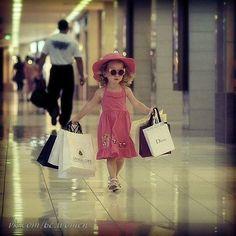 Girls go shopping