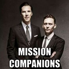 For my fellow Mormon Fangirls of Tom Hiddleston and/or Benedict Cumberbatch!