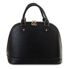 Fashion Women's Tote Bag With Letter Print and Color Block Design (BLACK)   Sammydress.com Mobile