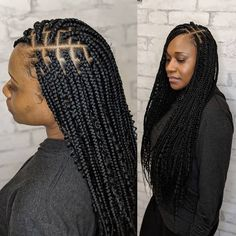 Miles on Bohemian box braids Haistylist: Dany . Book with any of our favorite stylists at thechair_beautyloft . Cute Box Braids, Small Box Braids, Blonde Box Braids, Short Box Braids, Jumbo Box Braids, Braids With Curls, Micro Braids, 2 Braids, Pretty Braids