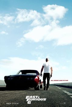 Here's the first teaser poster for Fast & Furious 6, featuring the Charger Daytona...