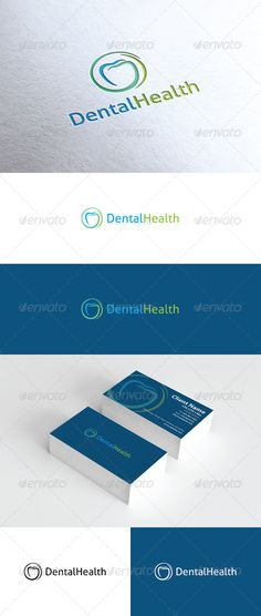 Dental Health Logo  #medical #tooth #vector • Available here → http://graphicriver.net/item/dental-health-logo/2701176?s_rank=481&ref=pxcr