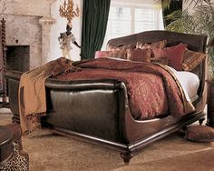 "king street"" sleigh bedthomasville (king bed only) 