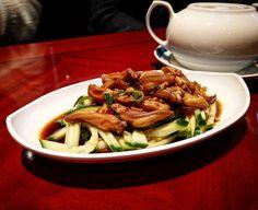 Nicht exklusiv dafür selten: Entenzungen #foodporn #duck #ente #düsseldorf #chinese #hongkong