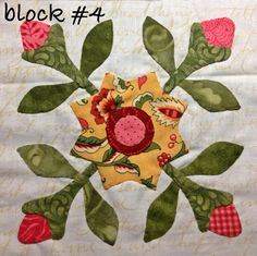 Mrs. Lincoln's sampler quilt by Anita Ireta