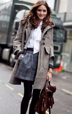 I love this coat.  The whole look is fabulous.