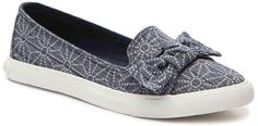 These are cute little slip on summer shoes. Rocket Dog Women's Clarita Slip-On Sneaker  #slipons #shoes #summer #spring #fall #bow #tennisshoes #sneakers #casual #affiliate