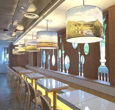 Salad Shop Interior Design by Asylum