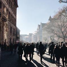 An hour in Nuremberg