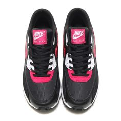 factory price 2f507 5233b Nike Wmns Air Max 90 (325213-040) Black Sport Fuchsia Pre Order and