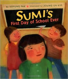 By the time Sumi finishes her first day of school, she decides that school is not as lonely, scary, or mean as she had thought.