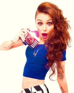 Cher Lloyd is such an incredible inspiration <3 she encourages people to not care what others say and to  do whatever you love