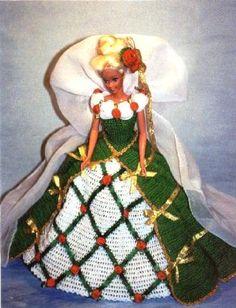 Häkeln Sie Mode Puppe Barbie Pattern 318 von JudysDollPatterns